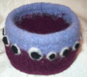 Knit Felted Bowl Pattern