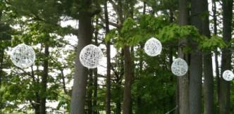 Wedding string globes tutorial