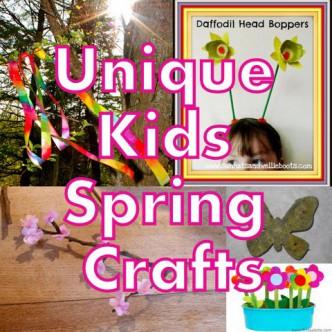 Unique Kids Spring Crafts