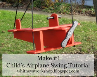 Airplane Child Swing Tutorial