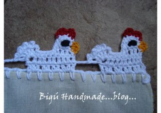 Little Hen Lace Crochet Tutorial