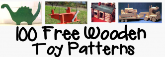 100+ Free Wooden Toys Woodworking Patterns