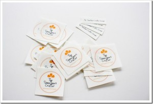 Easy Fabric Labels in Word