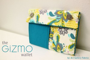 Gizmo Wallet Sewing Tutorial