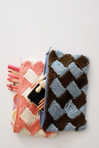 Pencil Case Knitting Pattern
