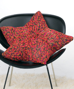 Large Star Pillow Knitting Pattern