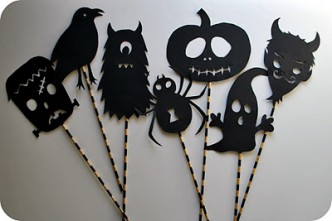 Halloween Shadow Puppets - How-To
