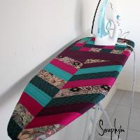 Quilted Ironing Board Cover Free Pattern