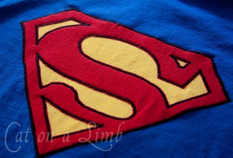 Applique Superhero T-Shirt Costume Tutorial