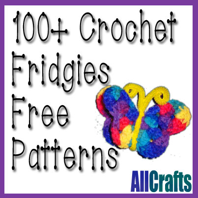 100+ Free Crochet Fridgie Patterns
