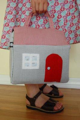 Fabric Dollhouse Sewing Tutorial