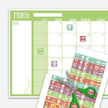 Free 2014 Calendar Printables