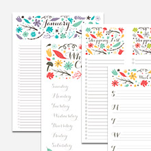 floral free printable 2014 calendar allcrafts free crafts update