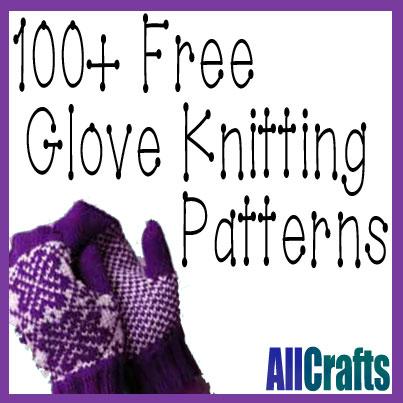 100+ Free Glove Knitting Patterns Updated