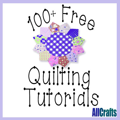 100+ Free Quilting Tutorials