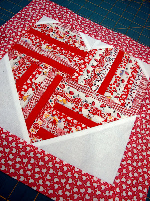 My Heart is Filled with Joy Quilt Block