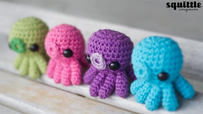 Baby Octopus Amigurumi Crochet Pattern