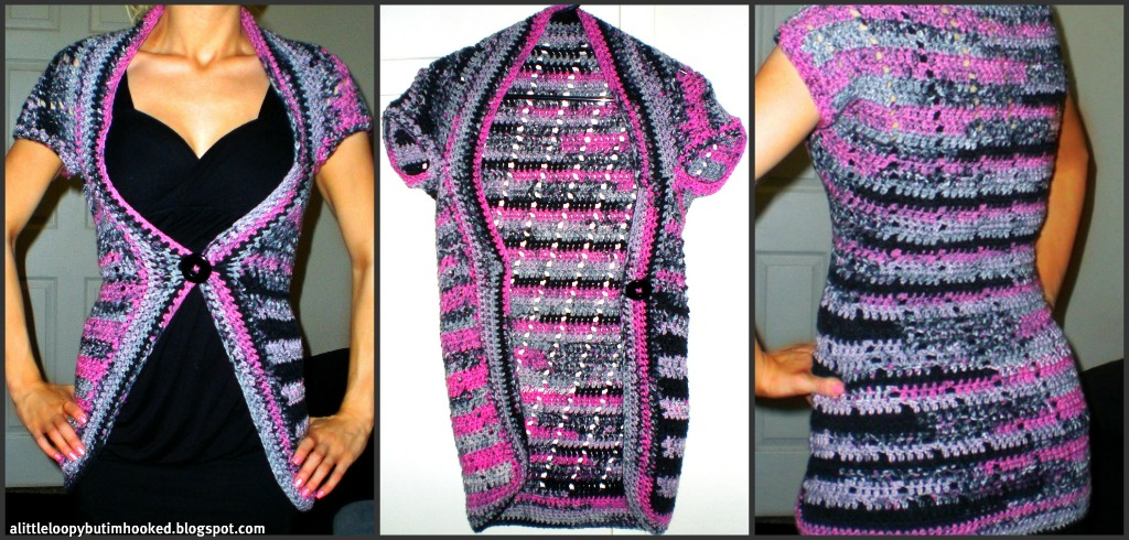 Kush Shrug Crochet Pattern