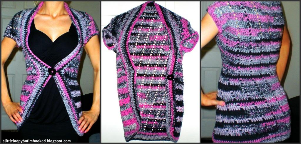 Kush Shrug Crochet Pattern