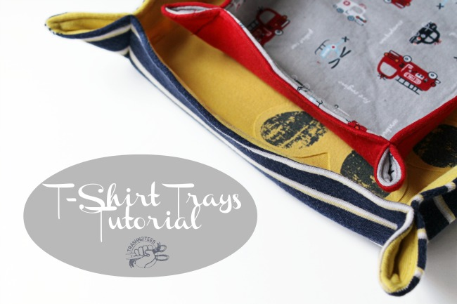 T-Shirt Trays Sewing Tutorial