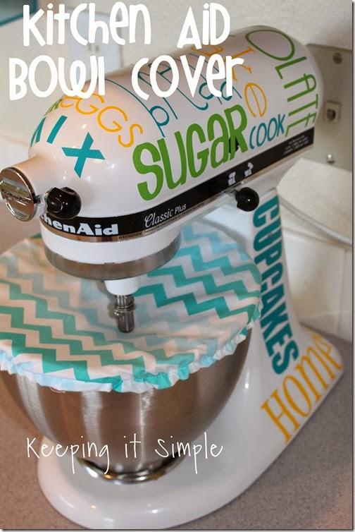 KitchenAid Mixer Bowl Cover Sewing Tute