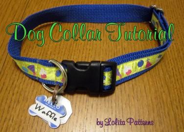 Adjustable Dog Collar Free Sewing Pattern