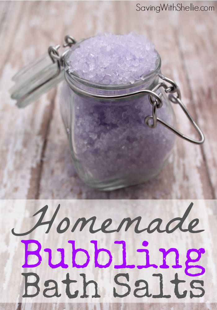 Lavender Bubbling Bath Salts Recipe