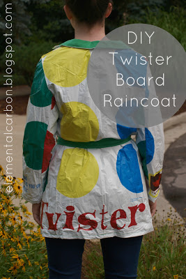 DIY Twister Raincoat Tutorial