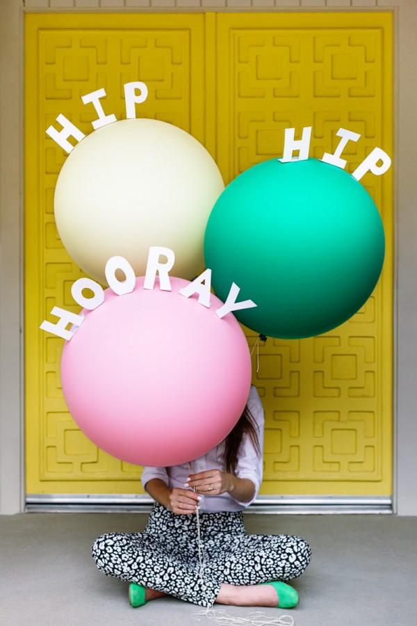 DIY Pop-Up Balloon Messages