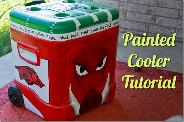 Painted Cooler Tutorial