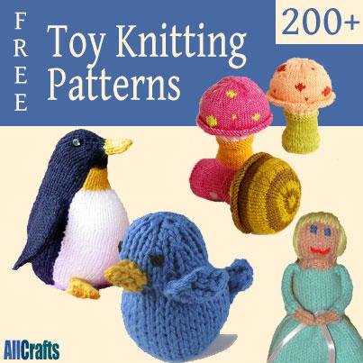 Free Toy Knitting Patterns