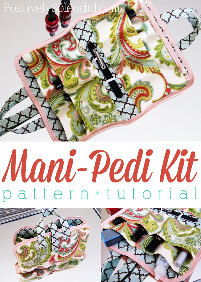 Portable Manicure and Pedicure Kit Sewing Tutorial