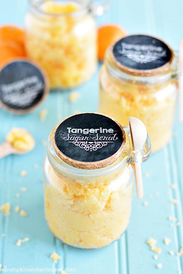 Coconut Tangerine Sugar Scrub