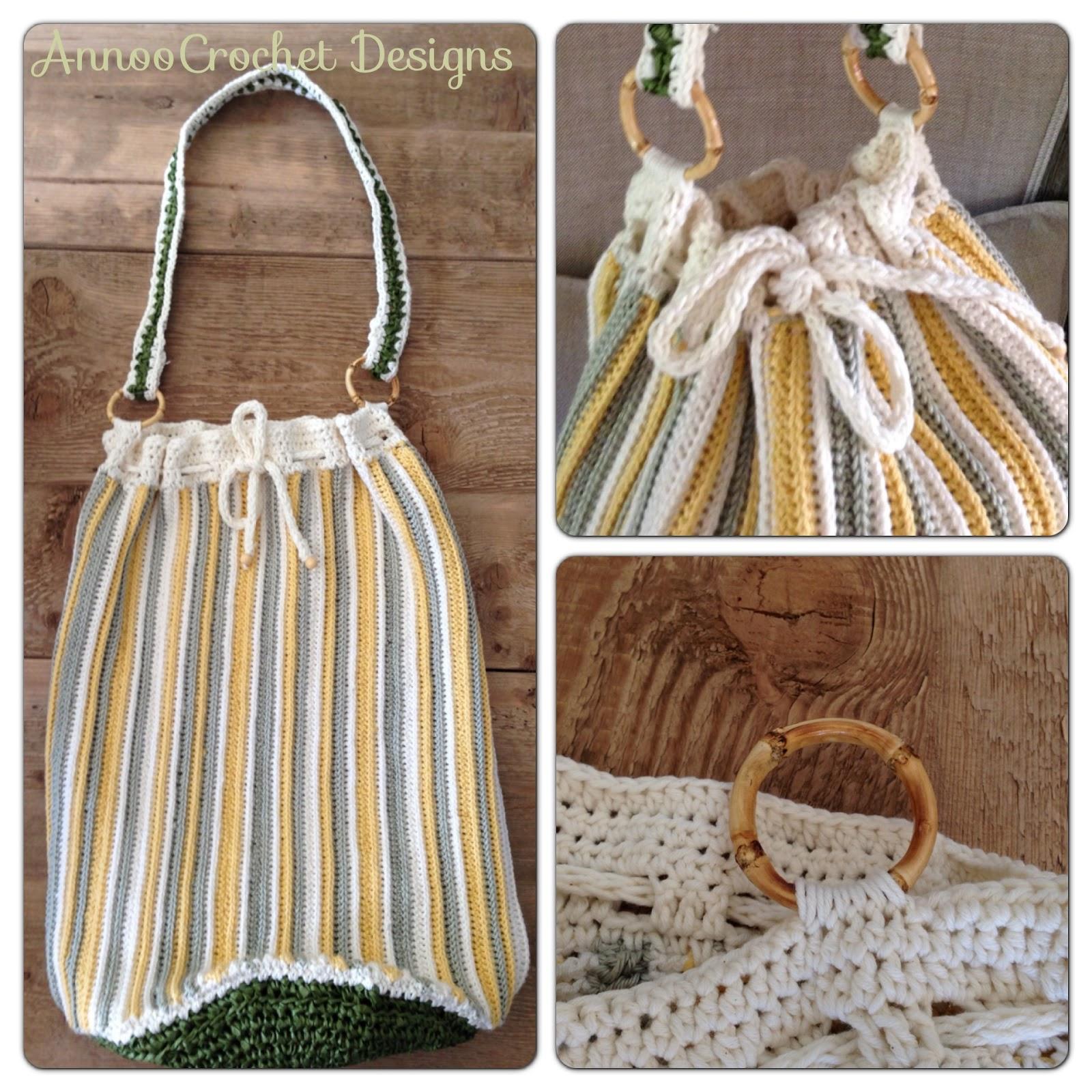 Rafia Beach Bag Free Crochet Pattern
