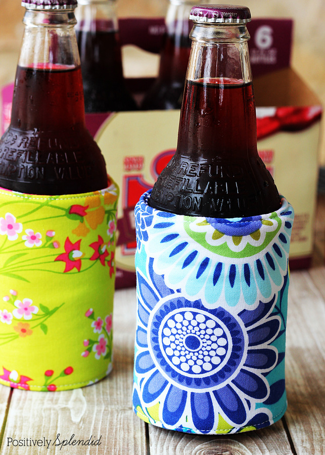 DIY Insulated Beverage Holders
