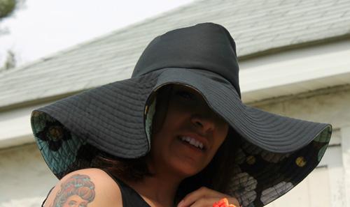 Floppy Sun Hat Free Sewing Pattern
