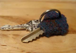 Crocheted Key Cozy Pattern