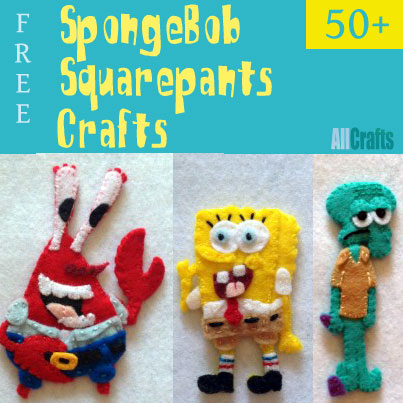 Spongebob Squarepants Crafts