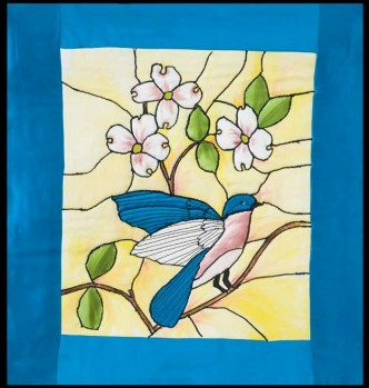 Free Tiffany Bluebird Quilt Pattern