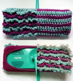 Reusable Swiffer Pad Free Crochet Pattern