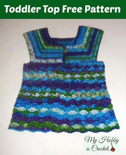 Iris Toddler Top – Free Crochet Pattern