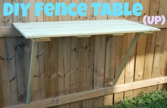 DIY Fence Table How-to