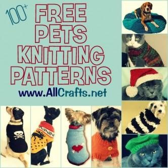 100+ Free Pets Knitting Patterns