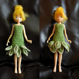 Fairy Doll Dress Crochet Pattern
