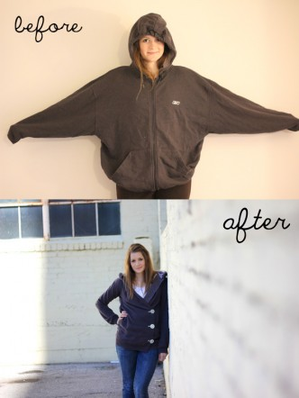 Cute Hooded Sweatshirt Redo