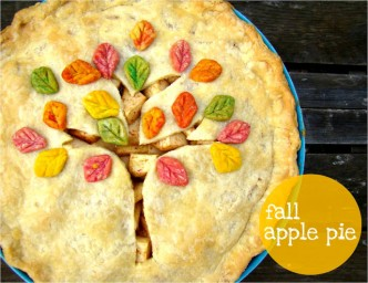 Fall Tree Apple Pie Recipe
