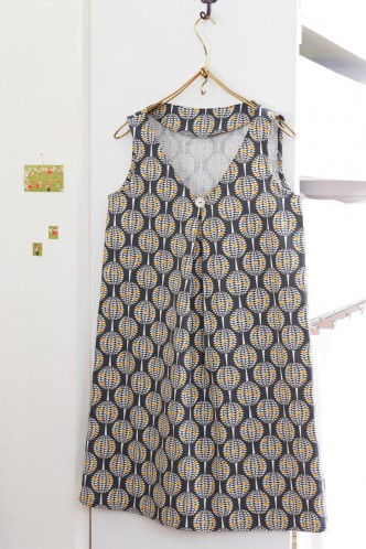 Tunic Dress Free Sewing Pattern