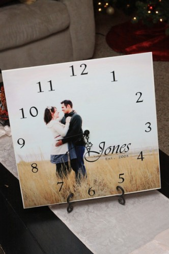 DIY Picture Clocks