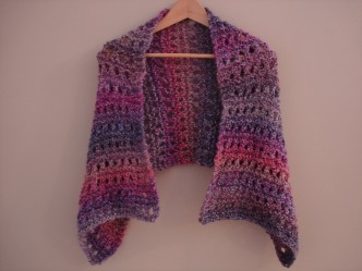 Peaceful Shawl Free Knitting Pattern