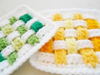 Weave Square Crochet Pattern